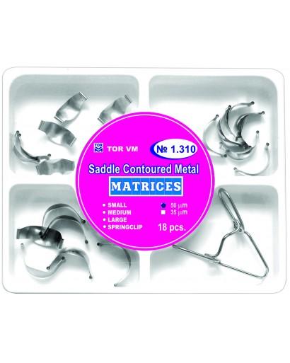 Kit Matrici Metalice Saddle Conturate asortate TOR VM 18 buc/kit