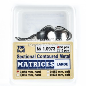 Matrici Metalice Sectionale TOR VM 50buc - 1.0973 MARI