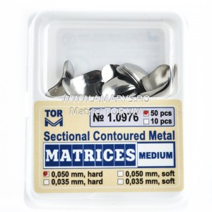 Matrici Metalice Sectionale TOR VM 50buc - 1.0976 MEDIUM