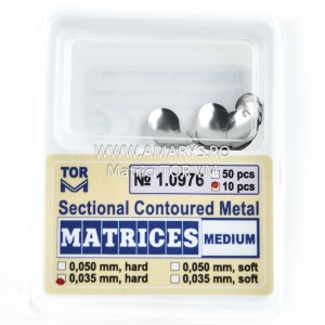 Matrici Metalice Sectionale TOR VM 10buc - 1.0976 MEDIUM