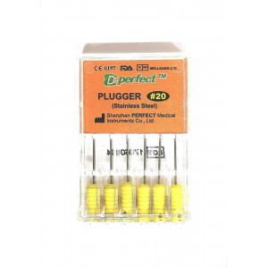 Ace D-Perfect PLUGGER Stainless Steel #20 (GALBEN)