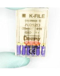 Ace Dentsply K-File Colorinox #10 (Mov) 25mm
