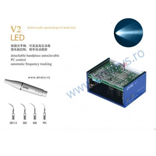 Aparat detartraj woodpecker DTE V2 LED incorporabil unit dentar