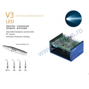 Aparat detartraj woodpecker DTE V3 LED incorporabil unit dentar