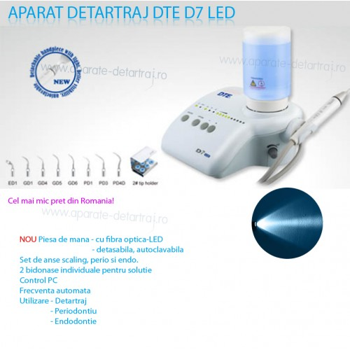 Aparat de detartraj woodpecker DTE D7 LED