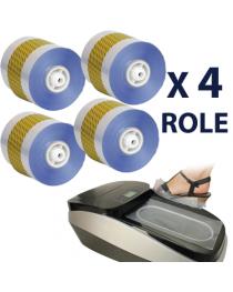Set 4 Role Pentru Aparat Automat Acoperit Pantofi