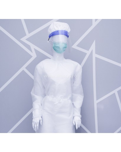 Halat (tip chirurgical) impermeabil autoclavabil Polipropilena TNT 60 Gr/Mp