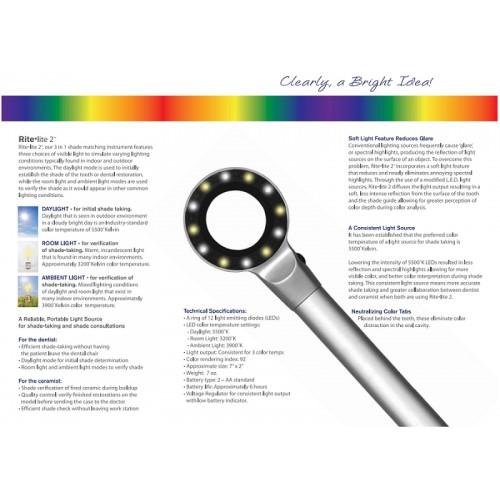 Lampa nuanta culoare - 3 spectre de lumina