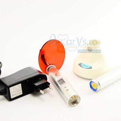 Lampa fotopolimerizare aluminium wireless led 5w 1400 mw