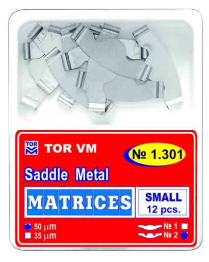 Matrici dentare Saddle plate-parte centrala flexibila MICI TOR VM 12 buc