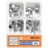 Kit matrici metalice sectionale conturate MARI TOR VM 30buc/kit