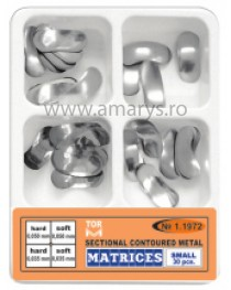 Kit matrici metalice sectionale conturate MARI TOR VM 30buc/kit
