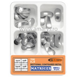 Kit matrici metalice sectionale conturate MICI TOR VM 30buc/kit