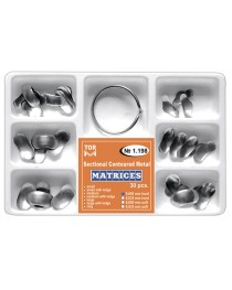 Kit Matrici Metalice Sectionale Conturate TOR VM Asortate 30buc/Kit