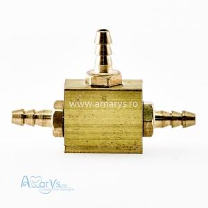 Conector 3 cai furtun aer/apa 2-2-2mm
