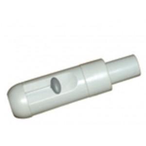 Maner mare aspiratie salivara plasic gri cu reglaj  15--15