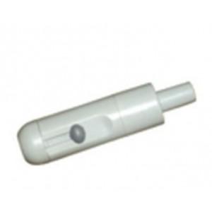 Maner mic aspiratie salivara plasic gri cu reglaj