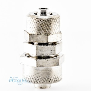 Cupla aer/apa convector metalic drept 2.5mm-4mm