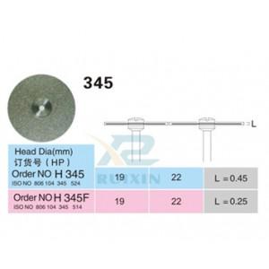 Disc diamantat tehnica dentara 345 22mm grosime 0.25