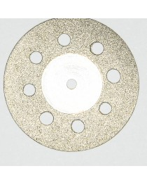 Disc diamantat gaurele tehnica dentara 350 22mm grosime 0.25