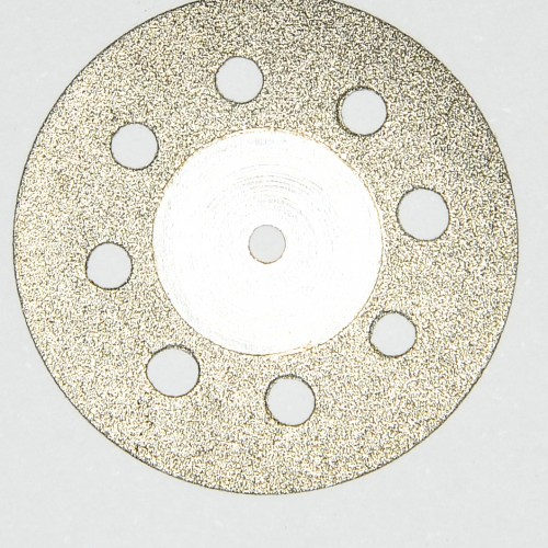 Disc diamantat gaurele tehnica dentara 350 22mm grosime 0.45