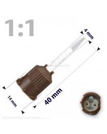 Varfuri mixare 1:1 40mm BUILD-IT -50buc