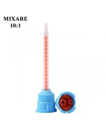 Varfuri mixare 10:1 albastru/rosu 50-buc